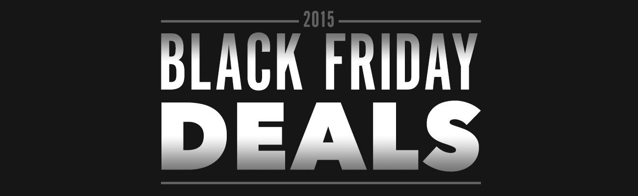 Black Friday Deals for Web Designers 2015