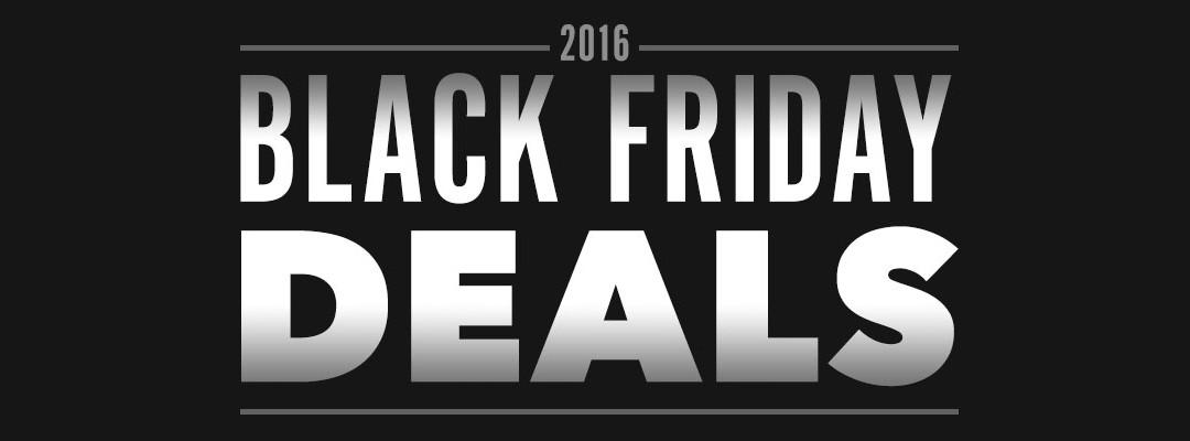 Black Friday Deals for Web Designers 2016