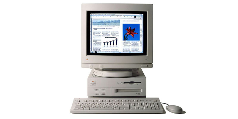 My First Mac: The Power Mac 7100